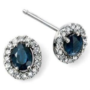 Elements Gold, Diamond, Blue Sapphire