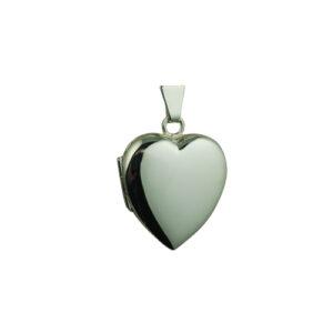 Silver Heart Locket, Heart Locket, Silver Locket Heart,