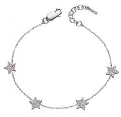 Fiorelli Silver Star Pave Bracelet